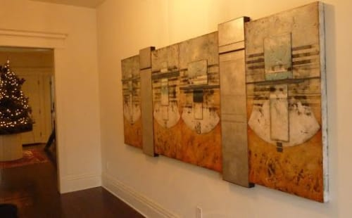 Paintings by Helene Steene seen at Private Residence, Lexington - Urban Eclipse