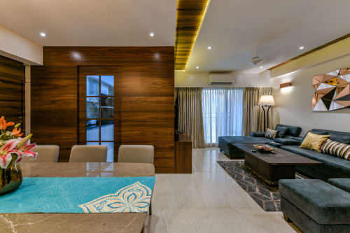 Interior Design by Traansformation Design Studio seen at Private Residence, Mumbai - Making a Style Statement