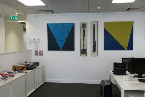 Wallpaper by Bob Barron seen at London, London - Orbit 9 and 12