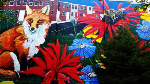 Bridget Cimino - Street Murals and Public Art