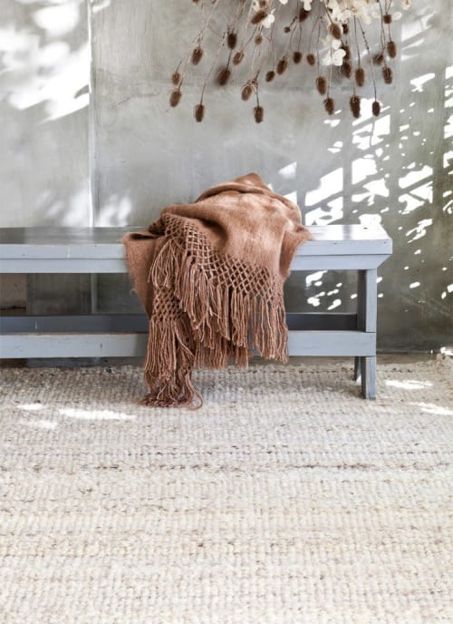 Pillows by AWANAY seen at Private Residence, Buenos Aires Province - OVEJAS RUG