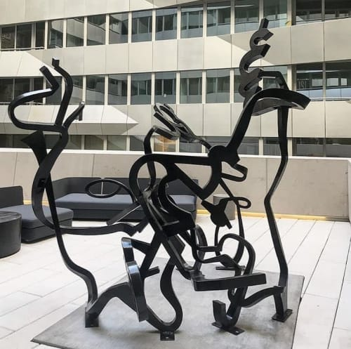 Public Sculptures by Christopher Yockey seen at 121 E 22nd St, New York - Sculpture