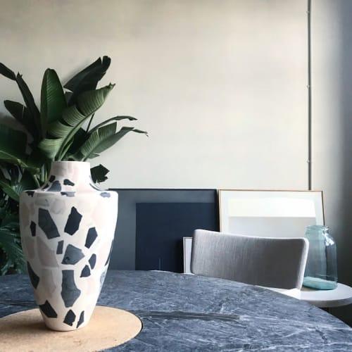 Vases & Vessels by Natascha Madeiski seen at London, London - Marbled Terrazzo Vase