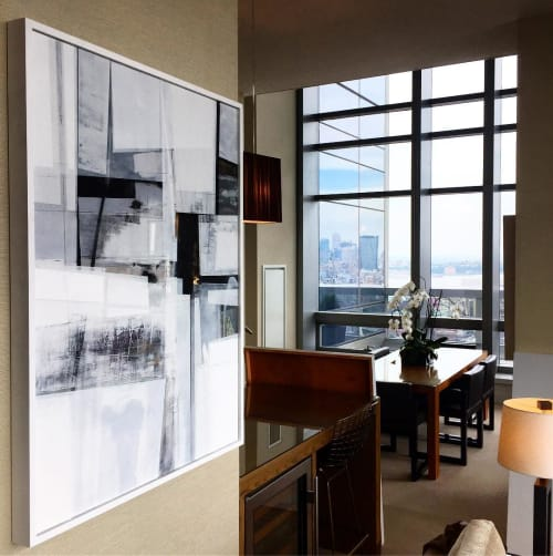Paintings by Michael Dickey seen at The Dominick, New York - Acrylic Painting