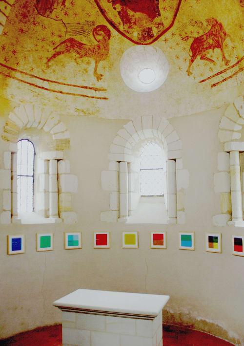 Chapelle de Beaulieu sur Layon   Paintings by Vincent Lemaitre