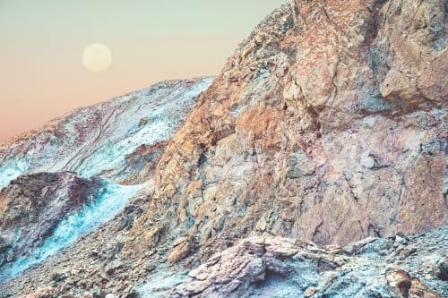 Super Pink Day Moon   Photography by Kara Suhey Print Shop