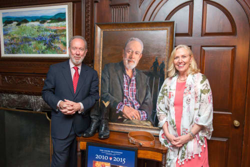 Paintings by Heidi Coutu at Yale University, New Haven - Portrait of Master Jeff Brenzel