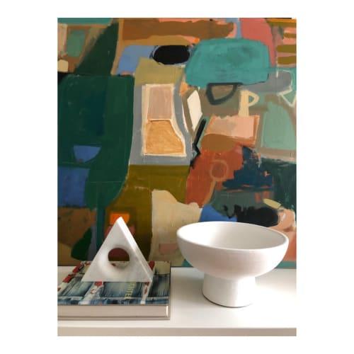 Paintings by Rebecca Jack seen at Creator's Studio, Atlanta - Adobe house