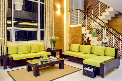 Couches & Sofas by MURILLO Cebu seen at Private Residence, Cebu City - 3-Seater and Sectional Sofas with Inca Tables