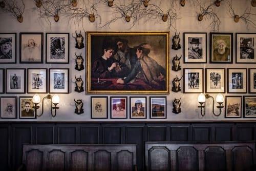 Paintings by Gideon Summerfield seen at The Fife Arms, Braemar, Braemar - Characters of Braemar
