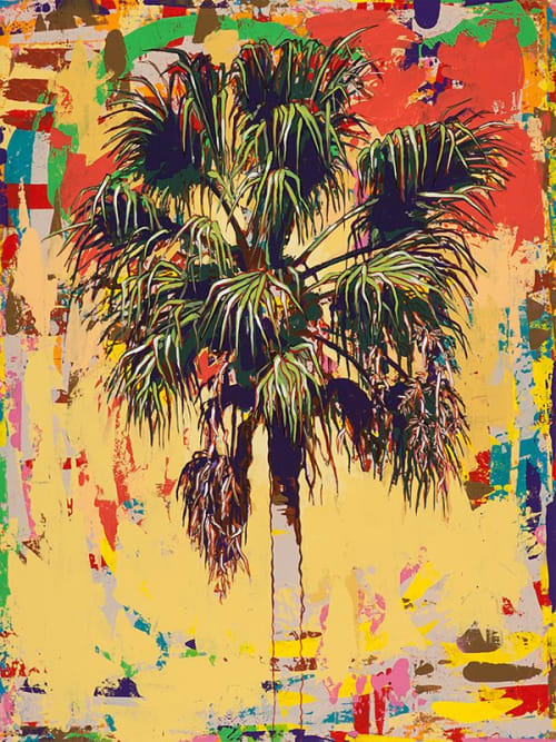 Paintings by David Palmer Studio seen at Pasadena, Pasadena - Palm Tree #3