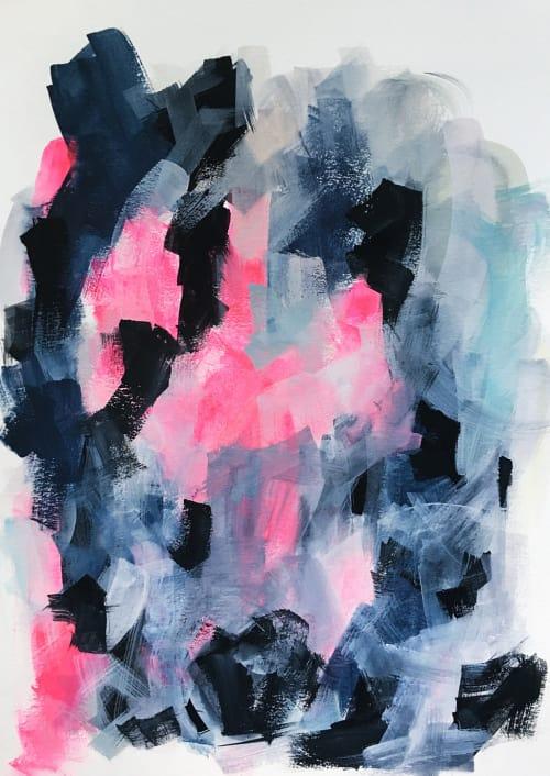 Paintings by Melanie Biehle seen at Private Residence, Seattle - Cloak