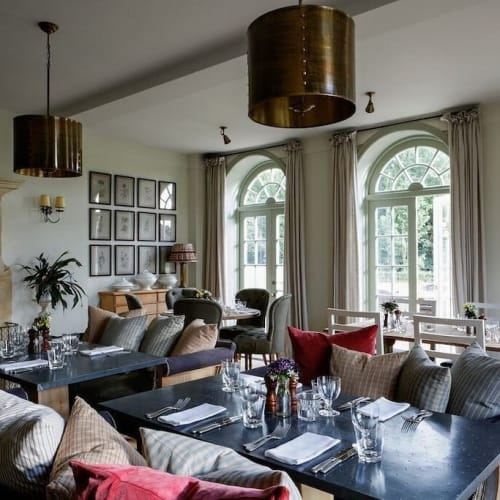 Wall Hangings by Lucy Augé seen at Beaverbrook Hotel & Spa, Leatherhead - Artwork