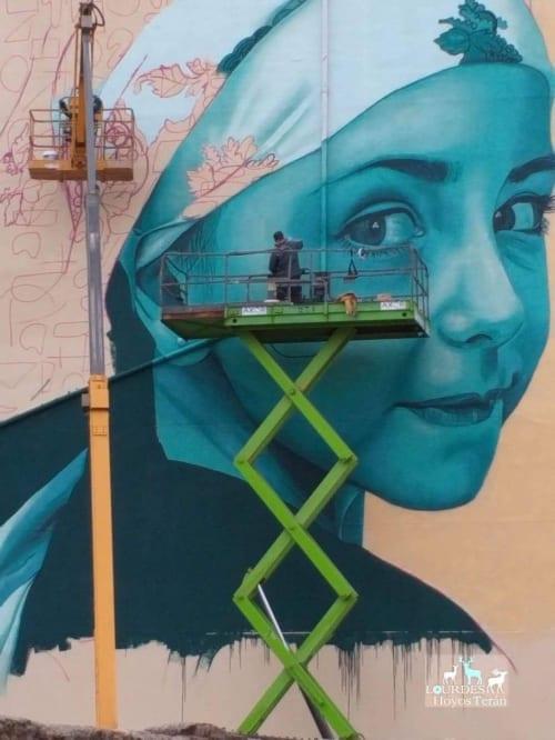 La Campurriana   Murals by Mon Devane