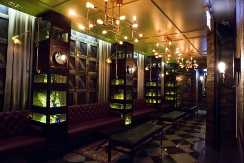 Interior Design by blocHaus at The Berkshire Room, Chicago - Interior Design
