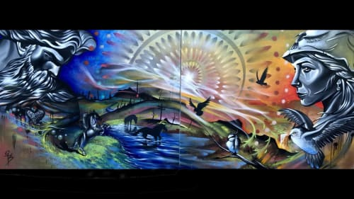 Art by Chad Bolsinger - Murals and Art