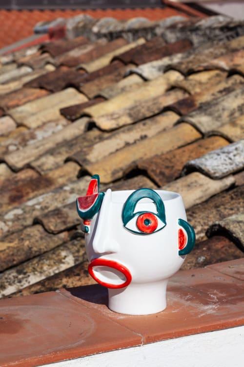 Riccardo seller of watermelon | Vases & Vessels by Patrizia Italiano