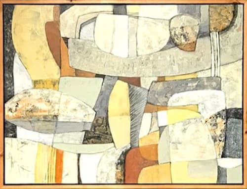 Paintings by Wendy Westlake seen at Zumbrota, Zumbrota - Honey