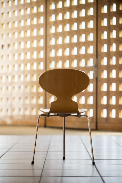 Chairs by Fritz Hansen seen at Seehotel Ambach, Campi Al Lago - Chairs