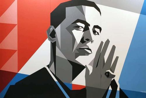 El Jefe   Murals by Spear Torres