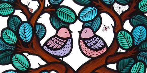 Flora Jamieson Stained Glass
