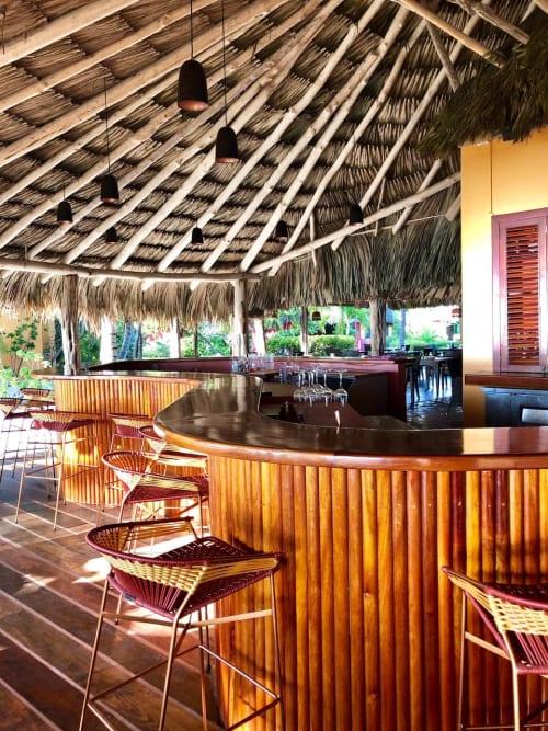 Chairs by Tucurinca seen at Matachica Resort Belize, Ambergris Caye - Maye Stool