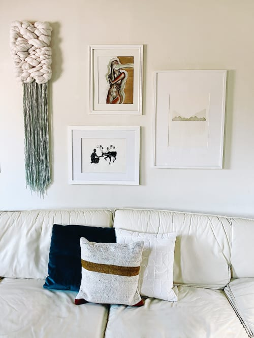 Paintings by Frankie Tobin seen at Jen Woo's Home, Oakland - Female Figure