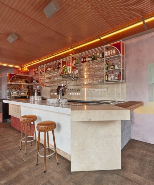 Interior Design by Studio Modijefsky seen at Bar Ramona, Amsterdam - Interior Design