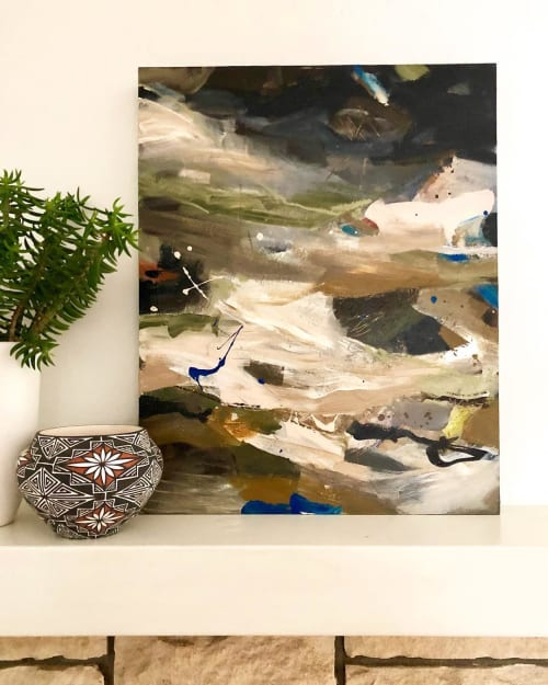 Paintings by Jennifer McHugh seen at Private Residence, San Diego - Bodega Bay