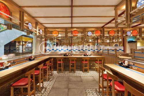 Interior Design by High Street seen at DMall Depok - TOM SUSHI D-MALL DEPOK