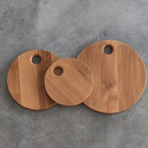 French Oak Simple Charcuterie/Serving Boards | Tableware by Todd Alan Woodcraft | Todd Alan Woodcraft in Vancouver