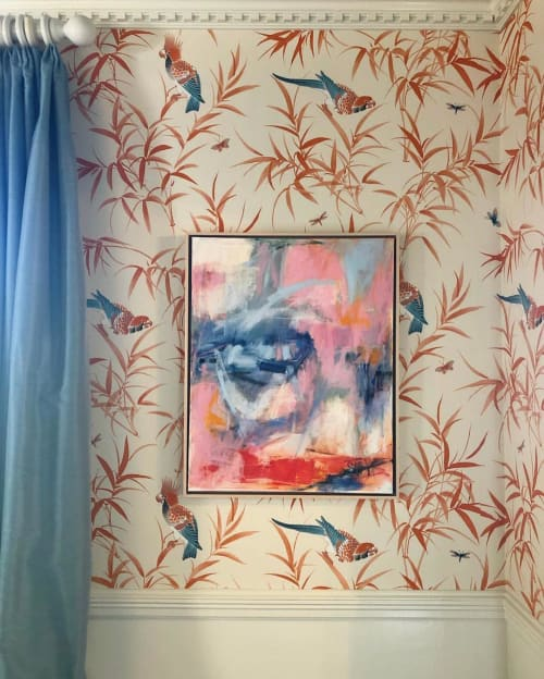 Paintings by Susan Altman seen at Private Residence, Charlotte - Abstract Painting