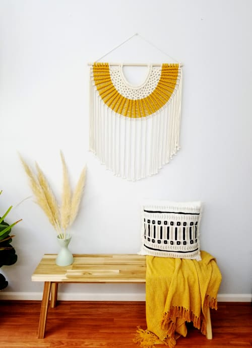 Macrame Wall Hanging by YASHI DESIGNS seen at Private Residence, Richfield - The Desert Sun