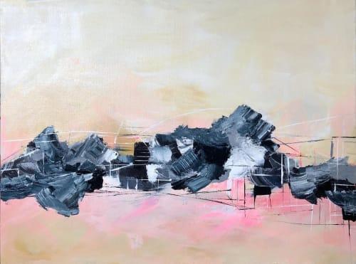 Paintings by Melanie Biehle seen at Cura Co, Seattle - Self-Aware