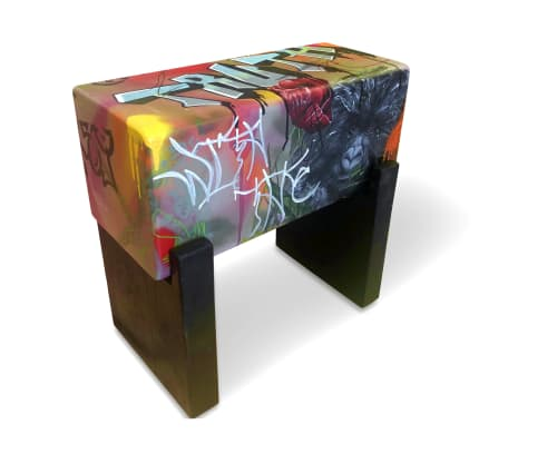 Benches & Ottomans by Andi-Le seen at Aspen, Aspen - Bradlee Truth Bench/Seat