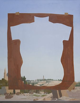 Heavy Body | Paintings by Abraham Storer | Artists' House in Jerusalem