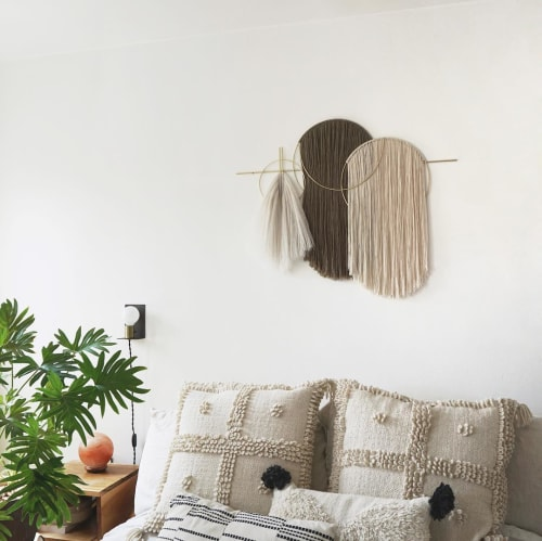 Wall Hangings by Attalie Dexter Home + Accessories at Private Residence, Los Angeles - Waveforms Oversized Wall Hanging