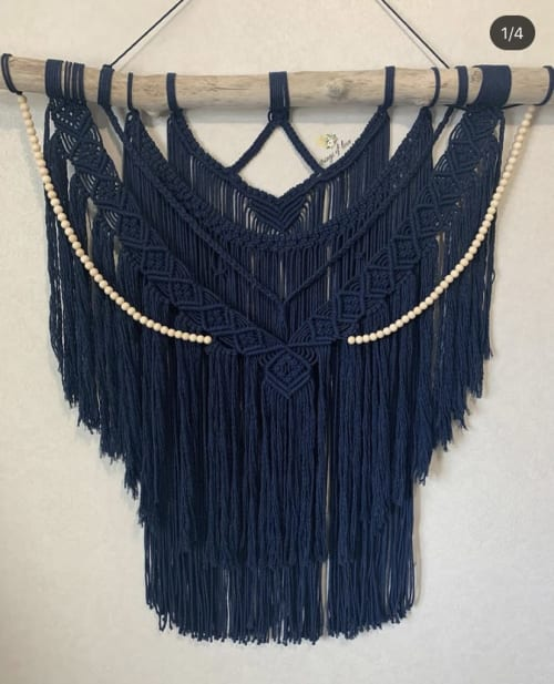 Strings of love. - Macrame Wall Hanging and Art
