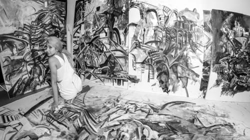 Zahra Nazari Studios - Paintings and Art
