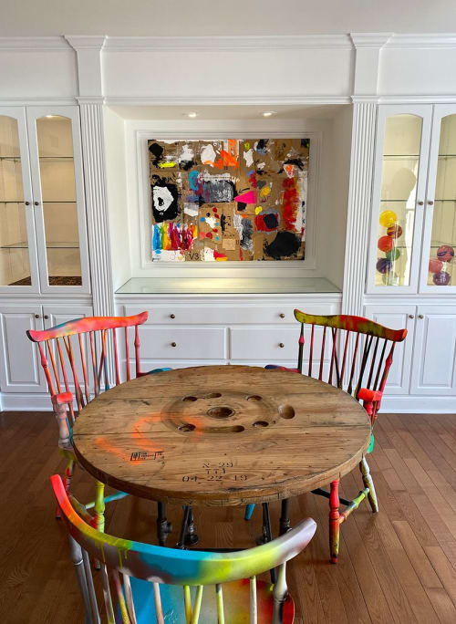 Paintings by Linda Zacks seen at Private Residence, Princeton - Daydreaming