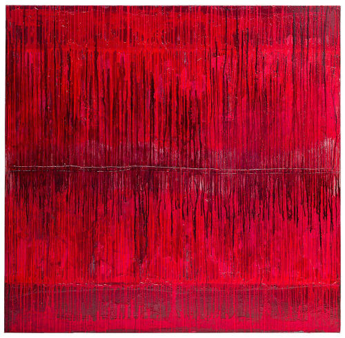 Paintings by Danette Landry seen at New York, New York - La Maison Rouge