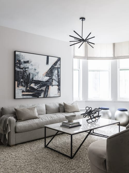Interior Design by amy kalikow design seen at Private Residence, New York - 49 Chambers Street
