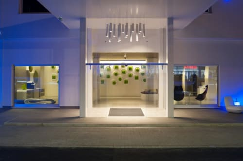 Lighting by Voltaire Lighting Design seen at 8piuhotel, Lecce - Lighting Design