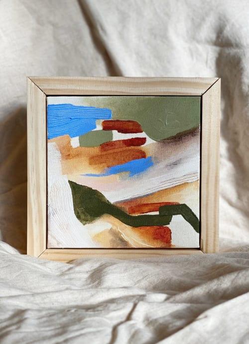 """Paintings by Quinnarie Studio - """"Swept away"""""""