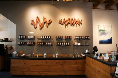 Art & Wall Decor by Lutz Hornischer - Sculptures & Wood Art seen at Four Barrel Coffee, San Francisco - Wood Wall Art