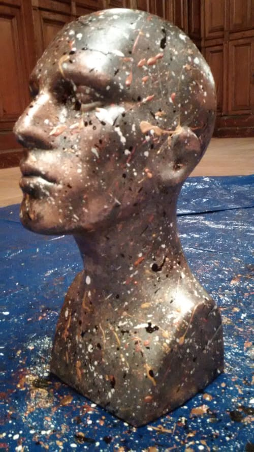 Public Art by Garry Grant Studio seen at New York, New York - Ulysses in 3 at The Park Armory 2014