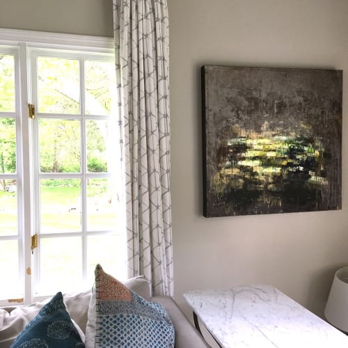 Paintings by Galen Cheney seen at Private Residence, New Canaan - Nightshade