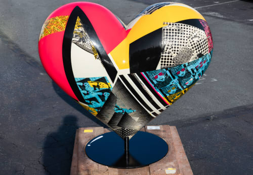 Public Sculptures by ANTLRE - Hannah Sitzer seen at San Francisco, San Francisco - I Heart Annie