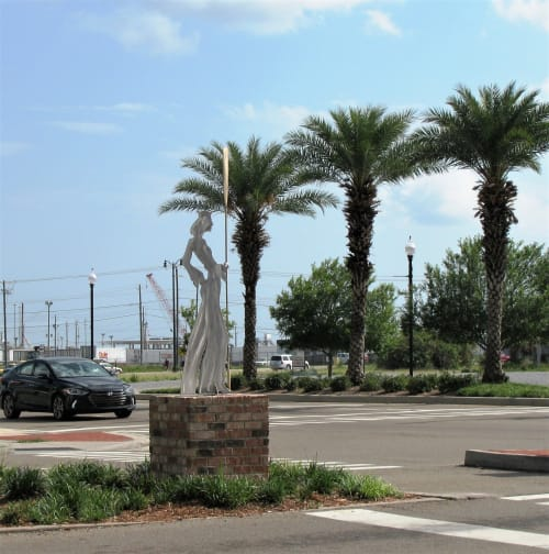 Public Sculptures by jim collins sculpture seen at Gulfport, Gulfport - SAILOR