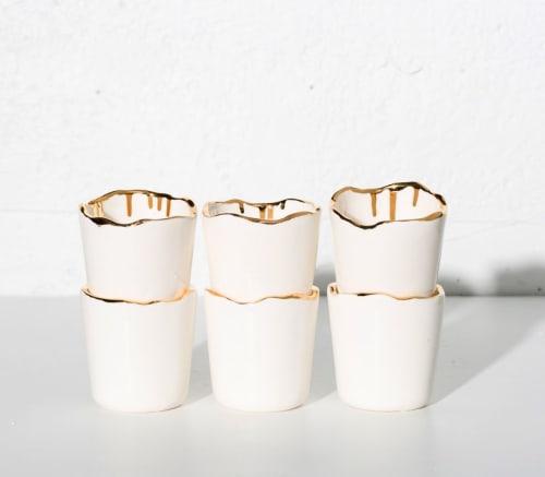Cups by DOMPIERRE seen at Creator's Studio, Montréal - ceramics cups